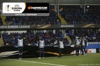 Flag ceremony – Hankook takes 'centre stage' at Europa League matches