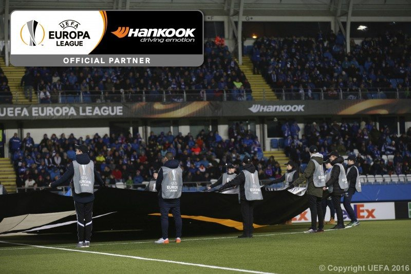 From football emotion to Driving Emotion – Hankook in the Europa League