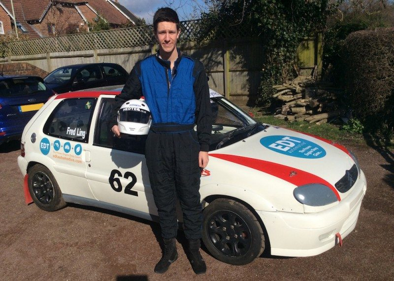 EDT Automotive has agreed to sponsor Kent-based motorsport starlet Fred Ling