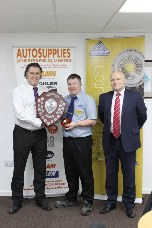 Bryan Barksby named Autosupplies' Employee of the Year