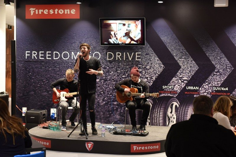Firestone sponsors Birmingham Barclaycard Arena's stage for unsigned acts