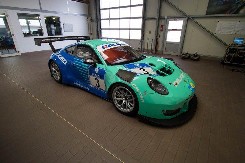 New generation Falken tyres for new Porsche racer