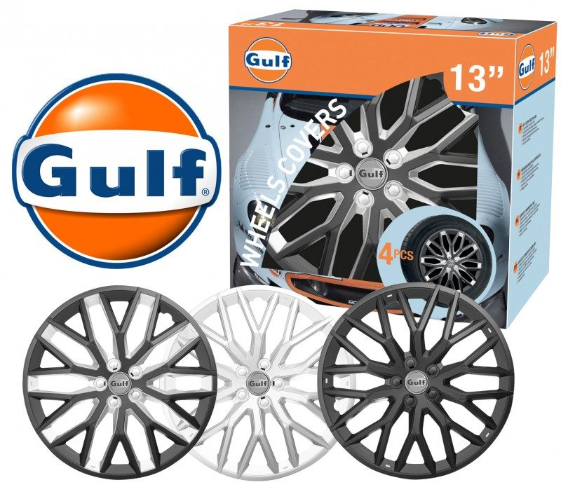 Gulf oil brand offers wheel trims