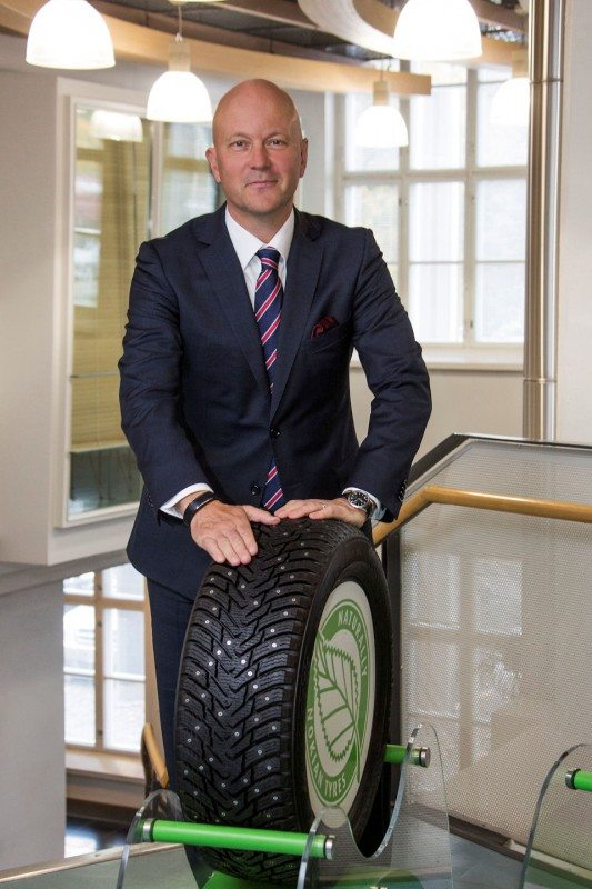 Nokian Tyres' president resigns