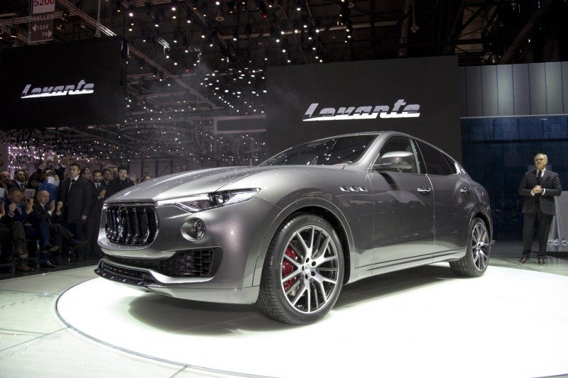 Unveiling the Maserati Levante in Geneva