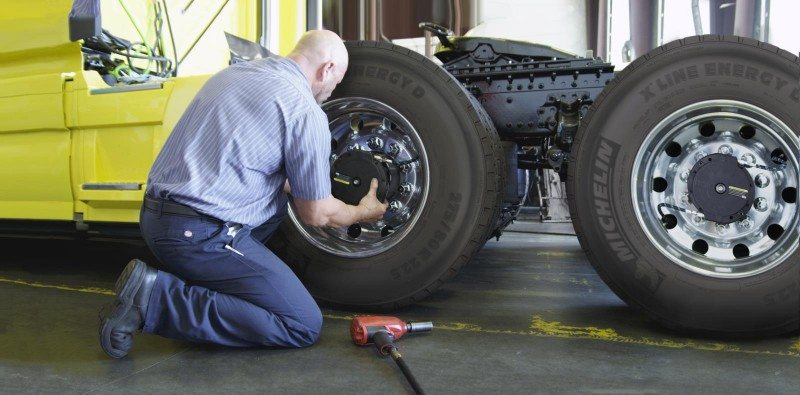 Michelin introduces truck tyre automatic inflation system with Aperia