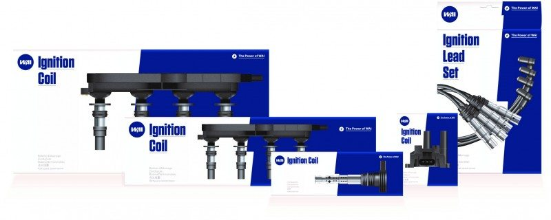 WAIglobal's new WAI branding has been extended to its direct ignition coils range