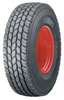 Mitas showing new CR-02 crane tyre at Bauma