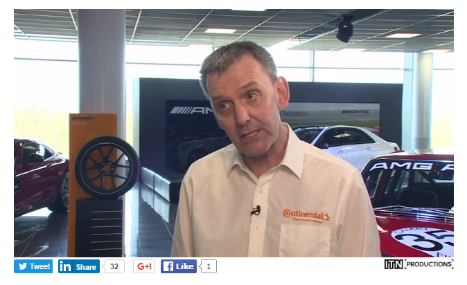 Continental has partnered with ITN Productions and IMI in the creation of a Driving Change episode on tyre safety