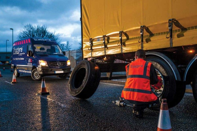 Tructyre figures show uptime impact for commercial fleets