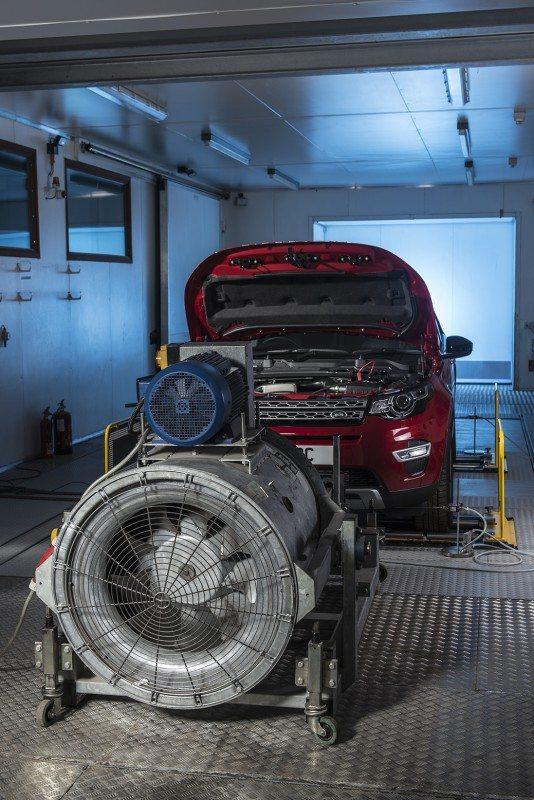 Automotive engineering facilities at the University of Bath
