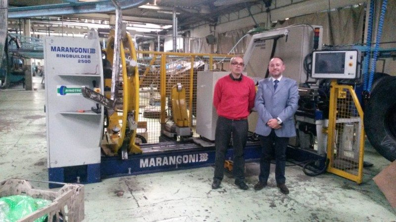 Marangoni has announced a partnership in Spain with domestic market retreader, Louzán SL