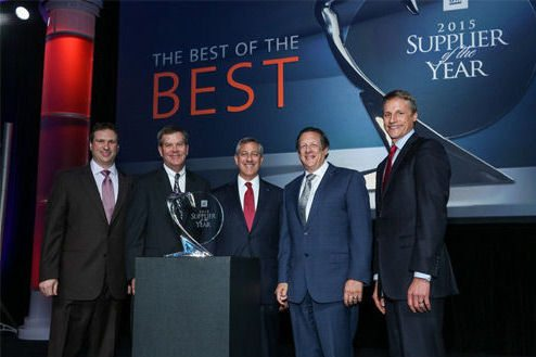 GM names Bridgestone a Supplier of the Year