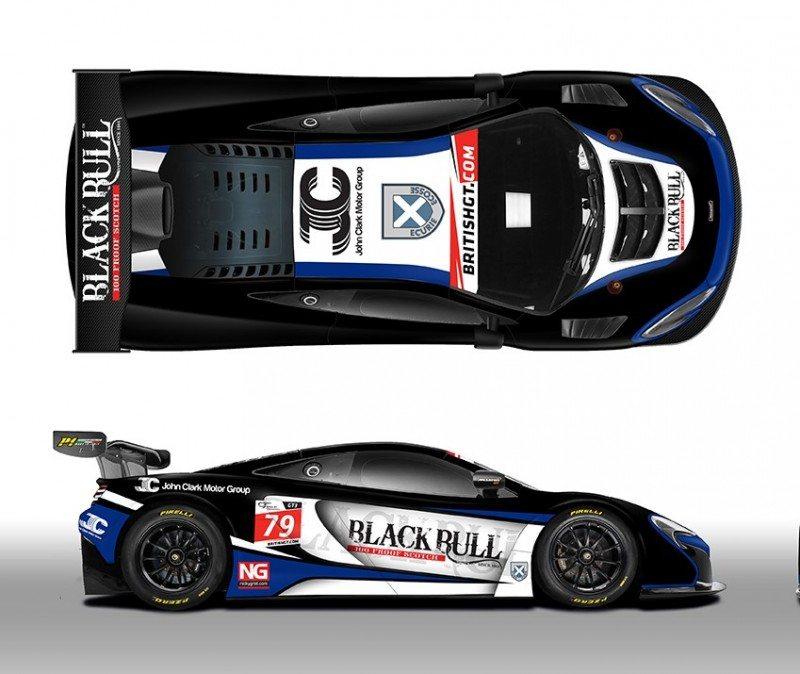 Ecurie Ecosse will field a McLaren 650S GT3 in British GT