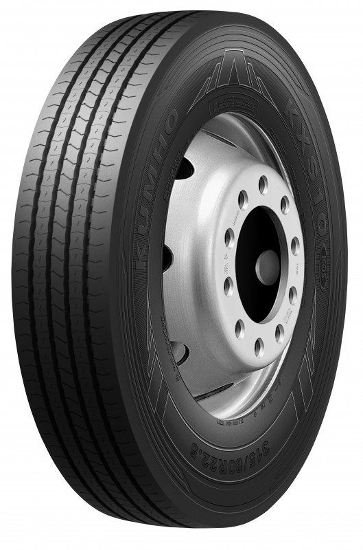 Kumho's newest commercial vehicle tyre, the KXS10