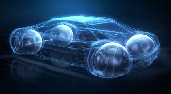 The new tyres envisions a world in which internal magnetic levitation propulsion is possible and mainstream