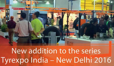 Tyrexpo India coming to New Delhi in 2016