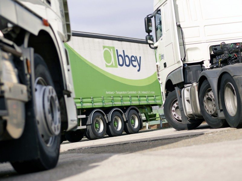 Abbey Logistics' 730 commercial vehicles serviced through Michelin solutions' Effitires