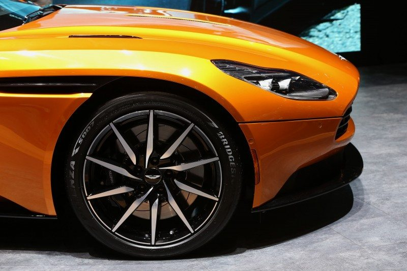 Bridgestone is an official partner of Aston Martin in the development of its new DB11
