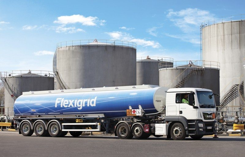 Greenergy Flexigrid will fit Goodyear's Fuelmax tyre to its fuel haulage fleet