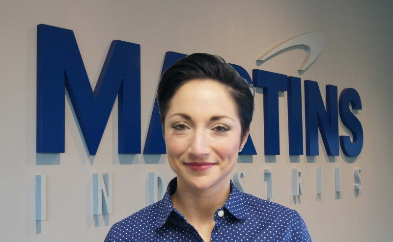 Jenny Lalumiere has joined Martins Industries as a technical representative for Western USA