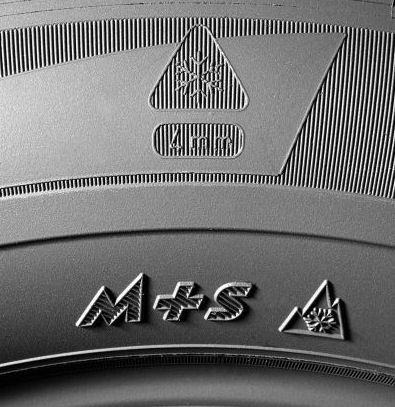 Whereas the 'three peak' symbol reflects standards set out by  EU Regulation 661/2009, the M+S logo can be used by tyre makers on any product they consider fit for winter use