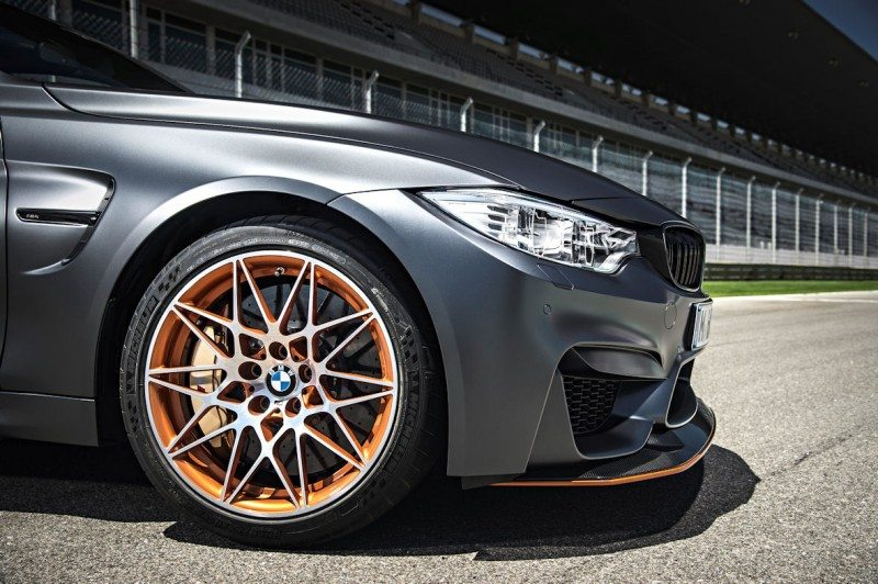 The M4 GTS is fitted with a 19-inch version of the Pilot Sport Cup 2 at the front and a 20-inch fitment at the rear