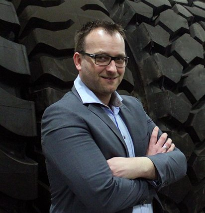 New Heuver Tyrewholesale Belgium and Luxembourg account manager Bert Vreys previously worked for global tyre manufacturer Michelin