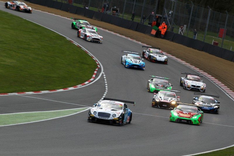Pirelli travels to Rockingham for the second race of the British GT Championship, which runs on P Zero tyres this year