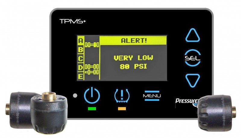 UK debut for PressurePro Pulse TPMS