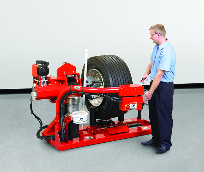 Pro-Align has launched the Hunter heavy duty tyre changer for truck and bus tyres