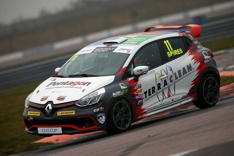 TerraClean is sponsoring PP Motorsport in the UK Clio Cup