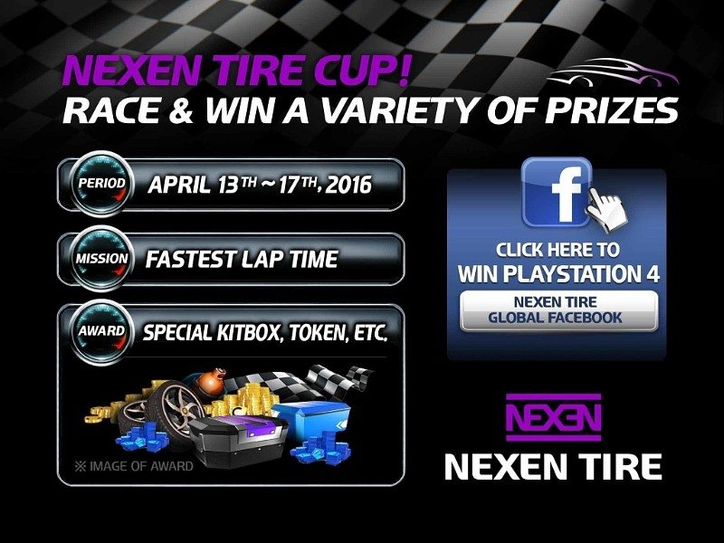Asphalt 8 promotion places Nexen Tire in virtual racing game