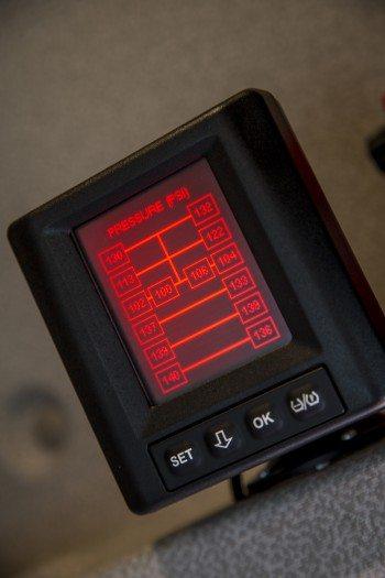 The ContiPressureCheck display