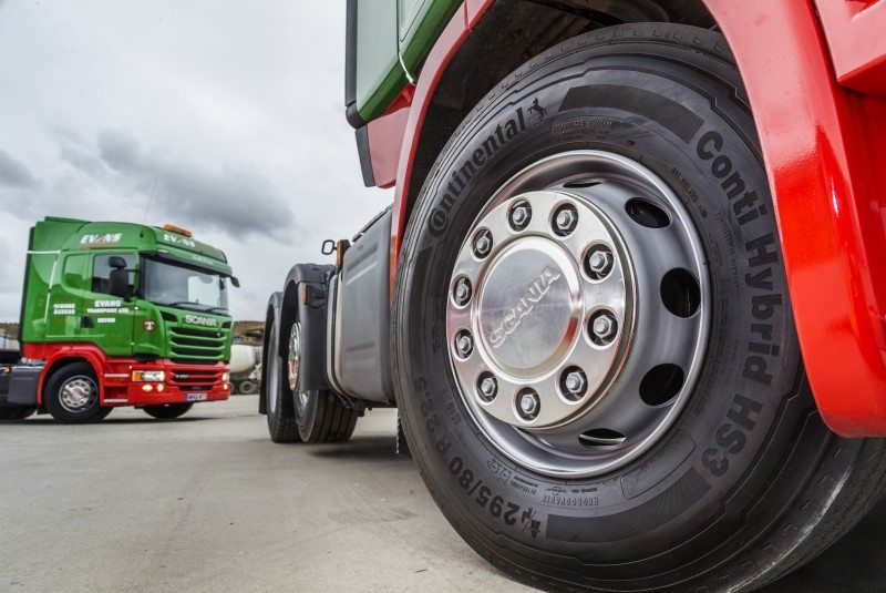 ContiPressureCheck adds economy and safety for Evans Transport