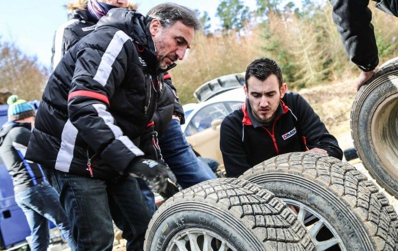 All Dmack tyres for priority WRC drivers are now being manufactured in the UK