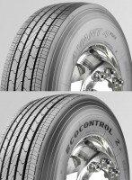 Sava Avant 4Plus (5-rib version) and Fulda Ecocontrol 2+ (6-rib) steer tyres