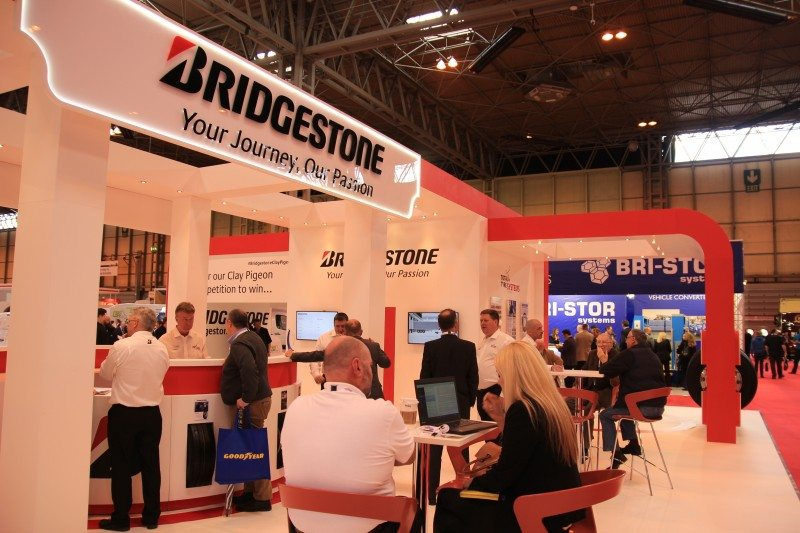 Bridgestone ensures its messages stick at the CV Show