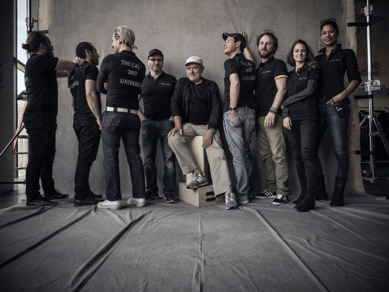 Pirelli has commissioned Peter Lindbergh (centre) to create the 2017 Pirelli Calendar