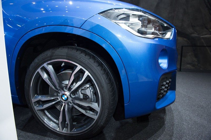As well as the BMW 7 series, Bridgestone is also supply Turanza T001 and Blizzak LM001 RFT OE tyres for the BMW X1 (pictured)