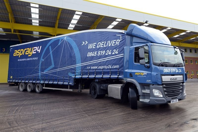 Aspray24's 363-strong all-DAF truck fleet has been contracted to Michelin solution