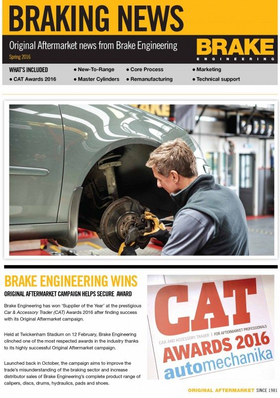 Braking News from Brake Engineering