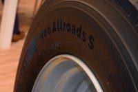 New for 2017 – Aeolus shows prototype truck tyres at Reifen fair