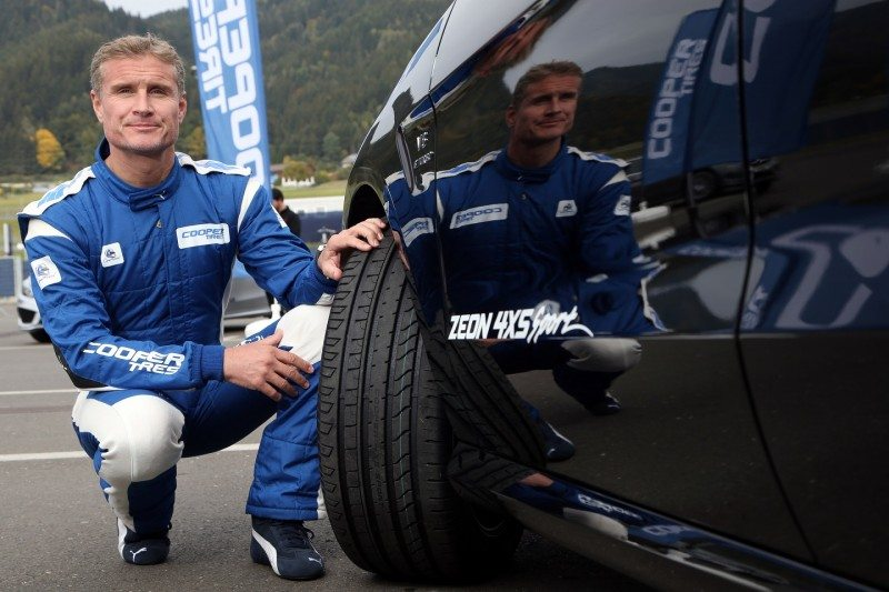 David Coulthard provided Cooper with evaluative feedback during the development of the Zeon 4XS Sport