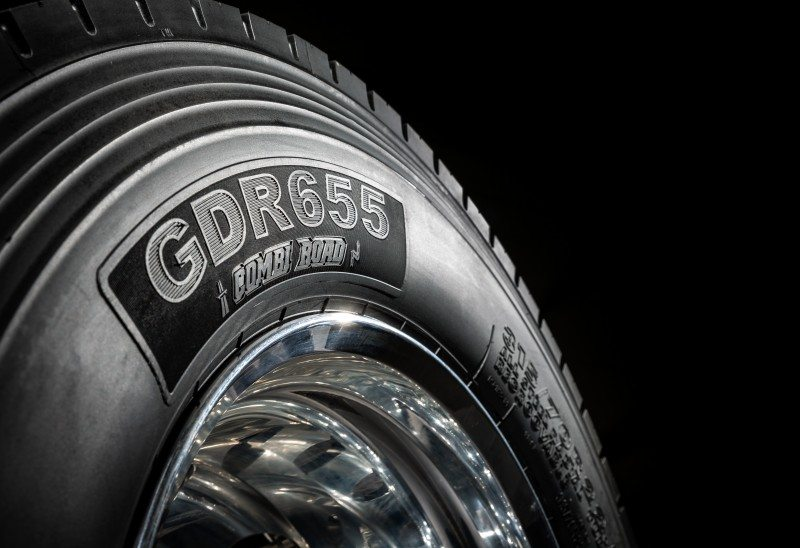 The Giti GDR655 regional drive axle tyre heralds the arrival of the Giti brand in European commercial tyre markets