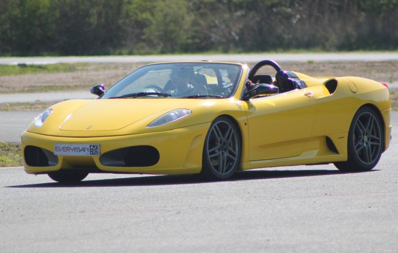 Sailun used a 450+ brake horse power Ferrari F430 to demonstrate the firm's confidence in its products