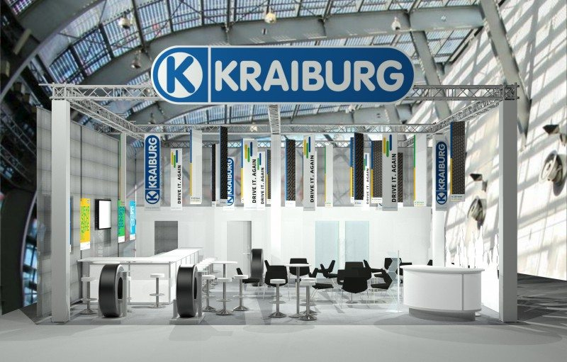 Kraiburg showing retreads 'comparable with new tyres' in Essen
