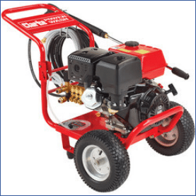 New Clarke heavy duty petrol pressure washers