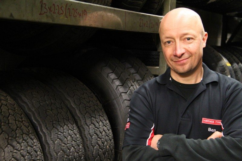 Ben Field has taken over as Vintage Tyres managing director
