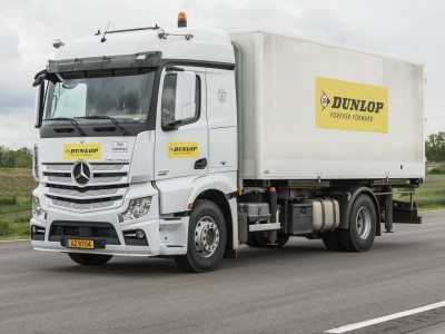 Dunlop launches mixed long haul, regional commercial tyres